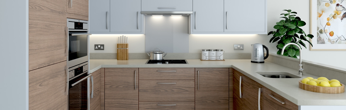 Ergonomically designed kitchens