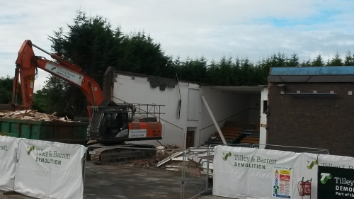 Start of Demolition