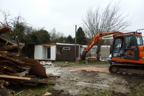 Castle View Windsor: Demolition Programme Commences
