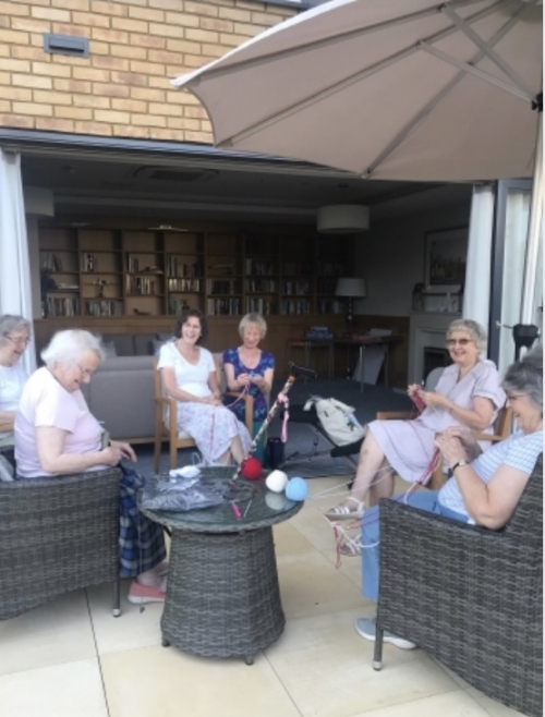 Outdoor craft and crochet