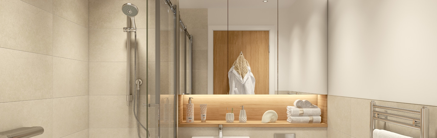Bathroom design with your needs in mind