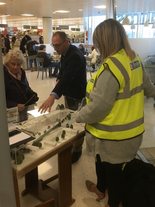 The Castle View Management Getting Involved  at Windsor Waitrose