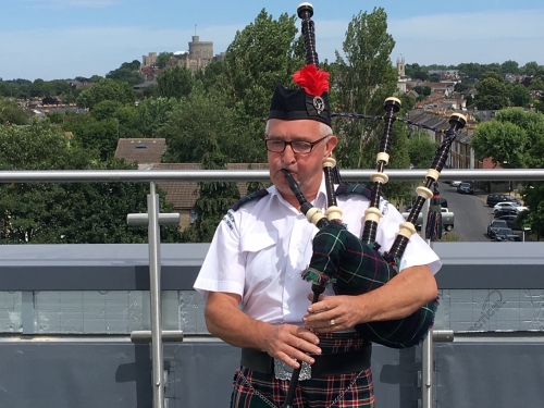 Bagpipes on the Roof
