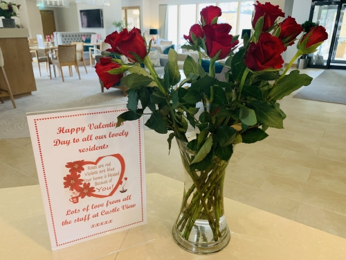 Happy Valentines Day to our Residents