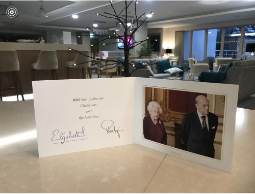 A Christmas Card from The Queen!!!