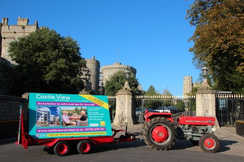 Tractor Run 2020 9th Feb for Thames Hospice and Castle View Open Weekend