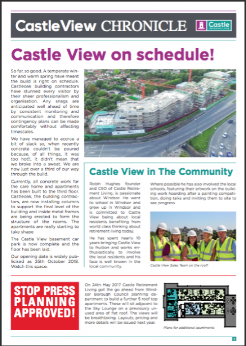 Castle View Chronicle
