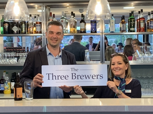 We are now the The Three Brewers!