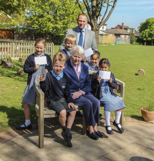 Castle Retirement Living celebrates the Queen's 90th Birthday with local school