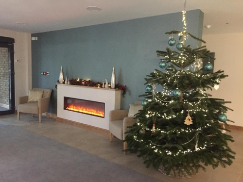 It's Christmas at Castle View as we Welcome Our First Residents