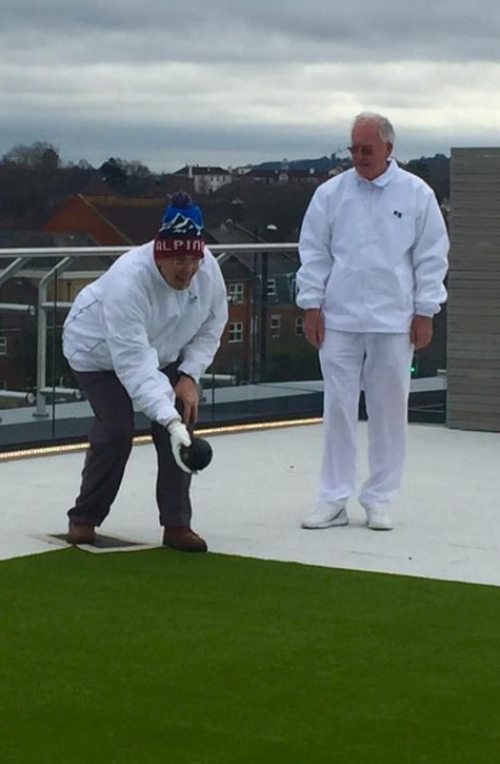 Windsor & Eton Bowling Club Try Out Our Rooftop Green