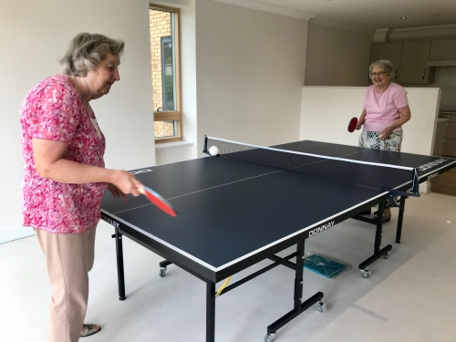 New Table Tennis Table